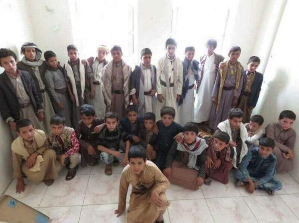 في بيان له.. التحالف يطالب المجتمع الدولي باتخاذ موقف حازم من تجنيد مليشيا الحوثي للأطفال