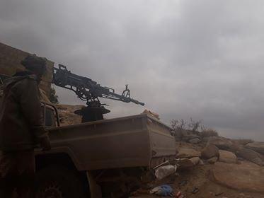 قوات الجيش الوطني تسيطر على مواقع جديدة في رازح بصعدة وتكبد المليشيا خسائر فادحة