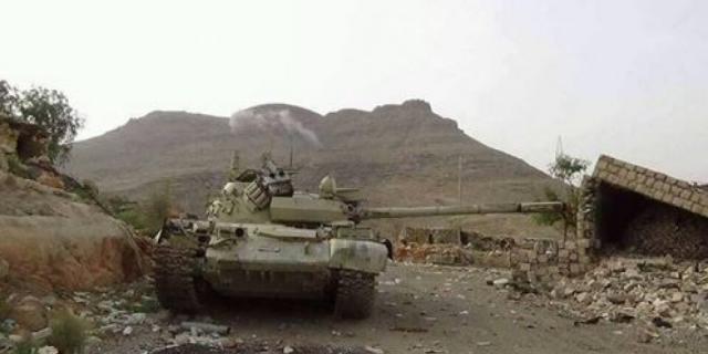 قوات الجيش الوطني تتقدم في كتاف صعدة وتقطع خطوط إمداد المليشيا بالكامل