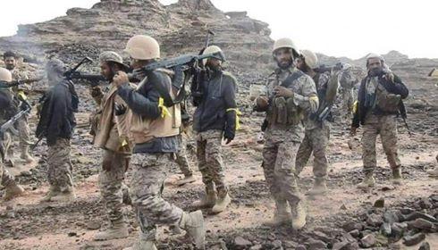 الجيش الوطني يتقدم في كتاف صعدة ويسيطر على مواقع جديدة