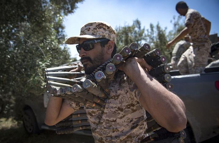 الوفاق الليبية تستعيد السيطرة على منطقة السبيعة وتأسر عدد من مقاتلي حفتر