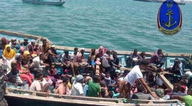 أجهزة الأمن في عدن تحبط تهريب 144 أفريقيا للقتال مع الحوثيين