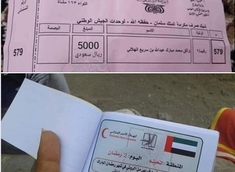 صورتين.. الفرق الكبير بين السعودية والامارات في اليمن