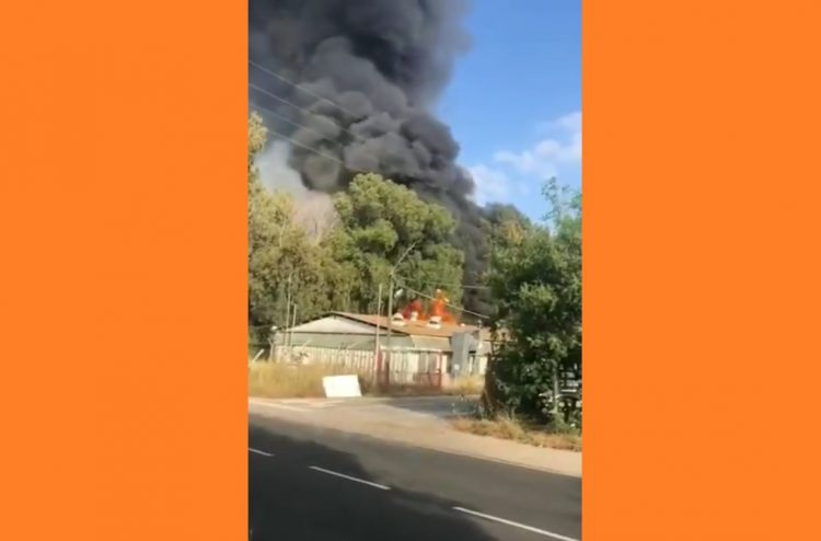 تل أبيب: نشوب حريق في قاعدة للجيش الإسرائيلي