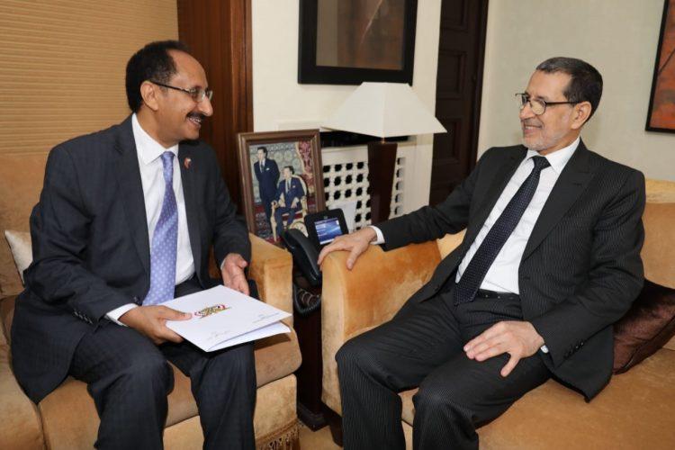 جرى مناقشة تسهيل إجراءات التأشيرات الخاصة باليمنيين.. السفير الأصبحي يلتقي رئيس الوزراء المغربي