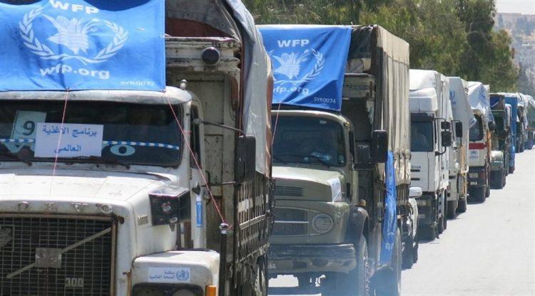 الحكومة تتهم مليشيا الحوثي باحتجاز أكثر من 80 شاحنة إغاثية في إب وتطالب الأمم المتحدة بالتدخل