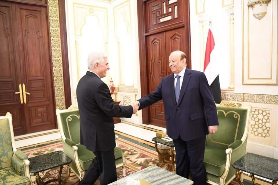 الرئيس الروسي يبعث رسالة إلى الرئيس هادي