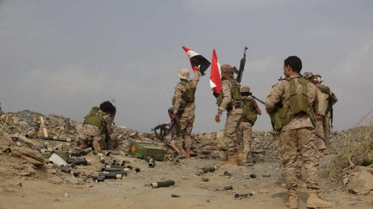 قوات الجيش الوطني تتقدم في مديرية الحشوة بصعدة وتسيطر على مواقع جديدة