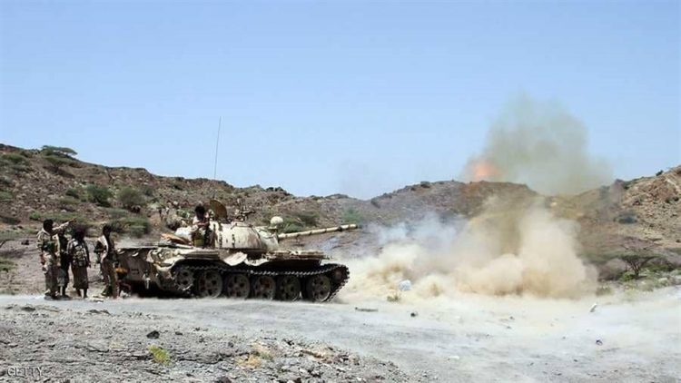 قوات الجيش الوطني تسيطر على مواقع في قعطبة بالضالع بعد معارك عنيفة