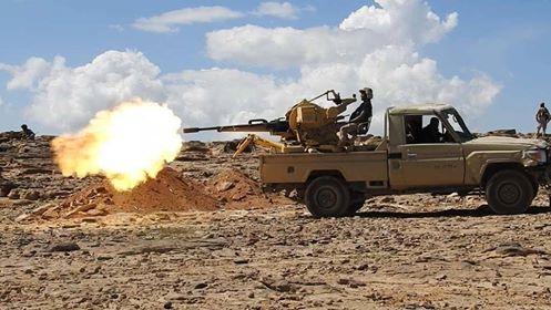 مقتل وجرح عدد من عناصر مليشيا الحوثي بقصف وغارات لطيران التحالف بحجة