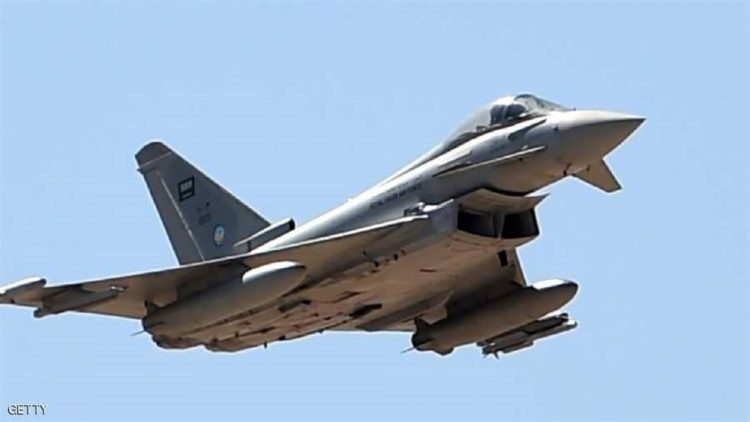 طيران التحالف العربي يشن غارات على تجمعات لمليشيا الحوثي في الضالع ويستهدف معسكر في إب