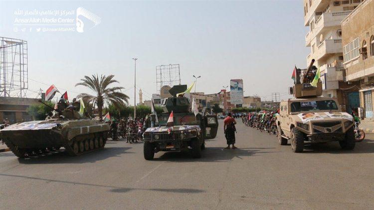 وزير يمني يؤكد أن أستعراض الحوثيين في الحديدة يكشف تضليل غريفيث للمجتمع الدولي