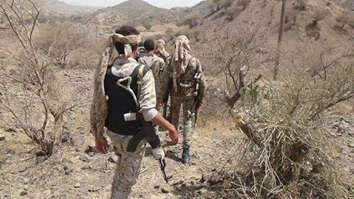 قوات الجيش الوطني تتقدم في الضالع وتتوغل باتجاه موقع إستراتيجي