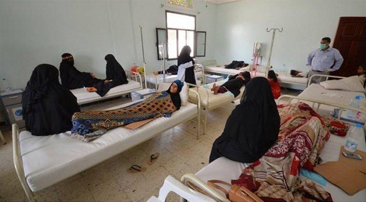 منظمة دولية تؤكد استقبال نحو 10 آلاف حالة اشتباه بالكوليرا في اليمن منذ بداية العام الجاري