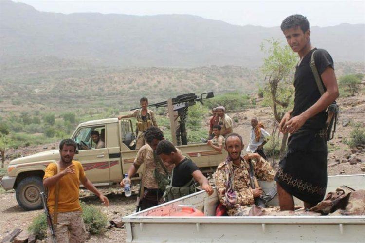 قوات الجيش الوطني تتقدم شرق تعز وتسيطر على مواقع استراتيجية