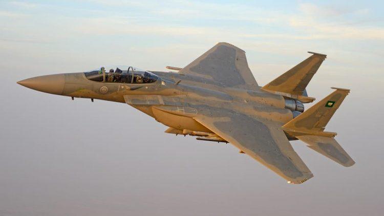 طيران التحالف العربي يستهدف مواقع وتعزيزات مليشيا الحوثي في الجوف