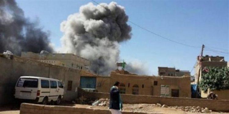 إنفجار مخزن للأسلحة تابع لمليشيا الحوثي في مدينة الحديدة