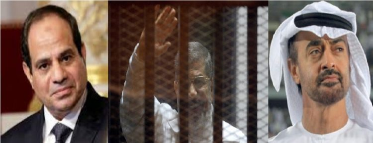 """تقرير يكشف الدور الإماراتي في دعم انقلاب مصر العسكري وتورطها في قتل الرئيس الراحل """"محمد مرسي"""""""