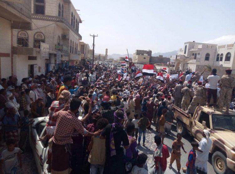 علي الجرادي يعلق على حشود سقطرى.. هذه الصورة تنتمي للمستقبل اليمني