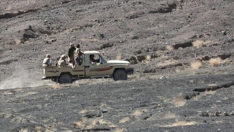 مصرع 13 حوثيا بينهم قيادي في مواجهات مع قوات الجيش الوطني بمحافظة الضالع