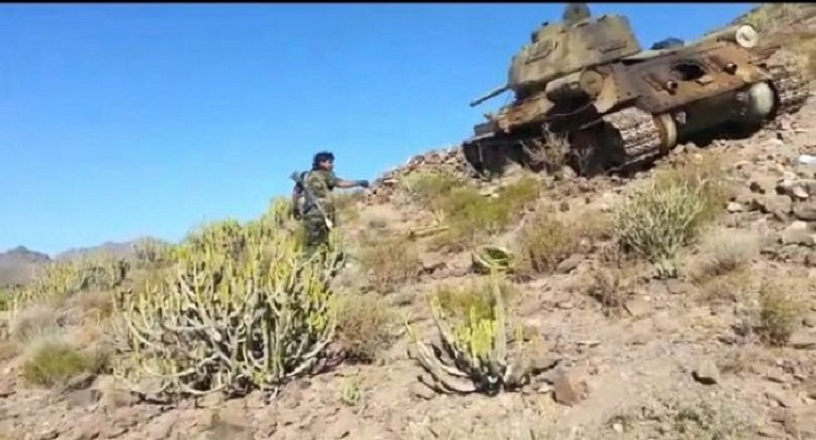 نجاة قائد لواء في القوات المشتركة وإصابة خمسة آخرين بينهم عقيد جرّاء قصف حوثي في مريس بالضالع