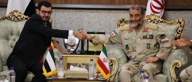 الإمارات وإيران.. حرب في اليمن.. وعناق في طهران