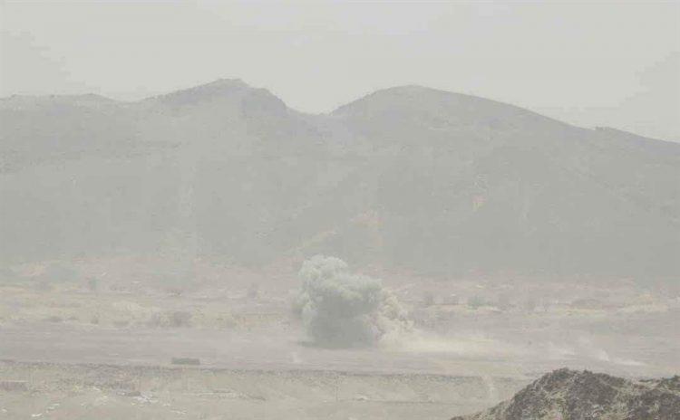 مصرع قيادي حوثي بغارة جوية في مديرية كتاف