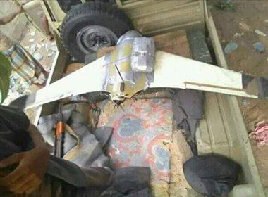 قوات الجيش الوطني تسقط طائرة مسيرة أطلقتها مليشيا الحوثي باتجاه الحديدة