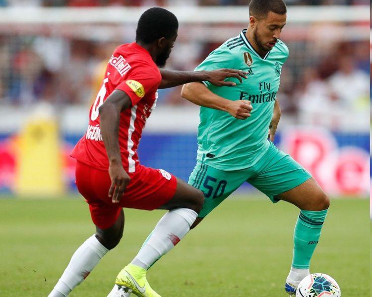 هدف هازارد يمنح ريال مدريد الفوز على ريد بول سالسبورج النمساوي