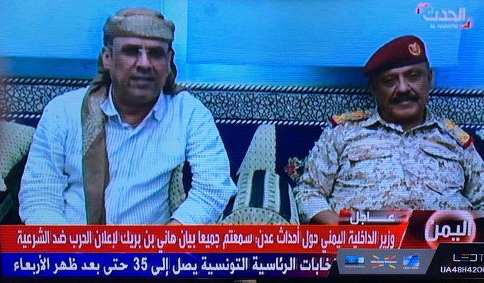 بيان هام لوزير الداخلية: أوقفنا تمرد هاني بن بريك ومليشياته بالتعاون مع قيادة التحالف