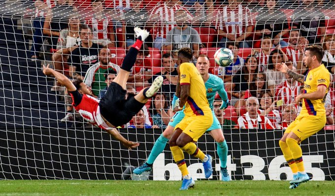 برشلونة يتعثر في اولى مبارياته بالدوري الاسباني أمام اتلتيك بيلباو