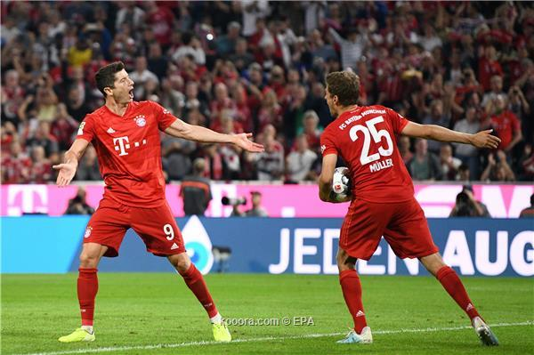 بايرن ميونخ يفشل في تحقيق الفوز بأول جولة من الدوري الالماني