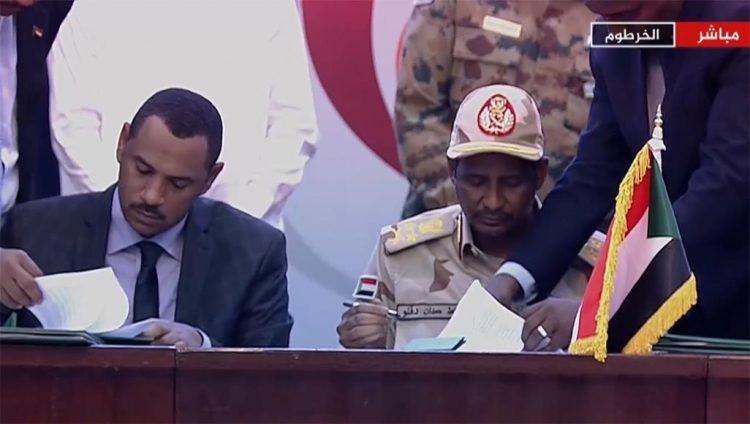 السودان.. توقيع اتقاقية تقاسم السلطة والمرحلة الانتقالية الجديدة