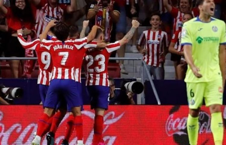 أتلتيكو مدريد يحصد فوز صعب على خيتافي في دوري الدرجة الأولى الإسباني
