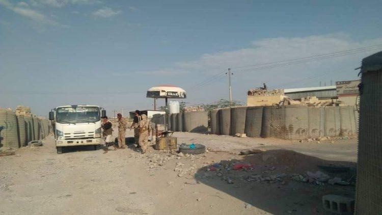شبوة: القوات المشتركة تقوم بحملة منع السلاح بمدينة عتق
