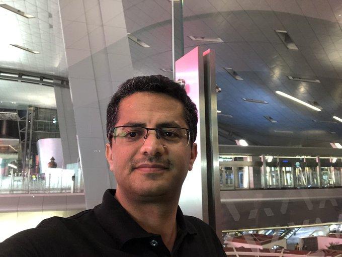 """بعد ضغوط اماراتية.. علي البخيتي يغادر الأردن ويتوجه إلى قطر ويؤكد :""""لا يمكن للإمارات انتزاع حريتنا"""""""