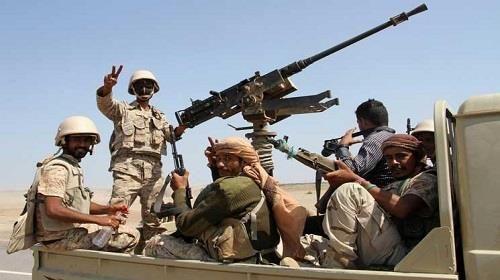 الجيش يقبض على مجموعة من المخربين بحوزتهم اسلحة نوعية وعبوات ناسفة بشبوة