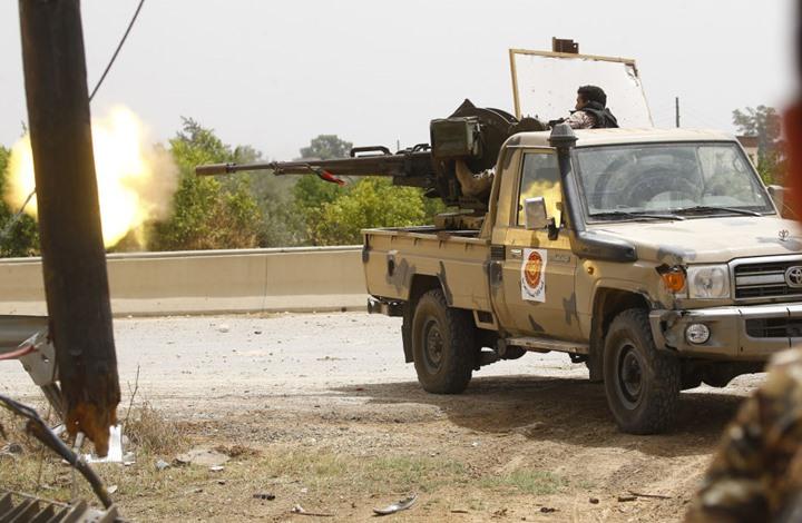 حكومة الوفاق الليبية تعلن سيطرة قواتها على مخزن أسلحة جنوب طرابلس