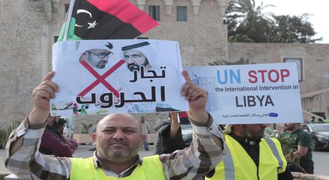 بعد اليمن والصومال.. ليبيا تشتكي إلى مجلس الامن ضد الامارات بسبب دعمها لمليشيات حفتر