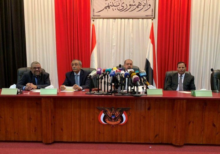 """عبدالعزيز جباري في تصريحات جديدة.. رئيس البرلمان """"البركاني"""" رفض اصدار بيان ضد استهداف الامارات للجيش الوطني"""