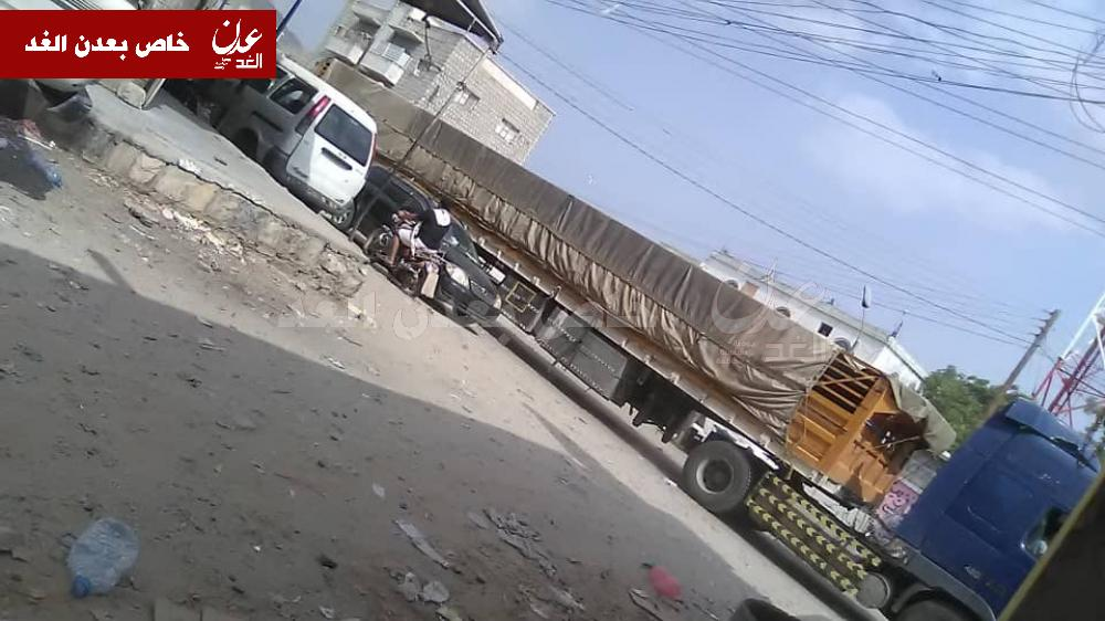 تعزيزات عسكر ية للجيش الوطني تمر بمودية في طريقها إلى شقرة