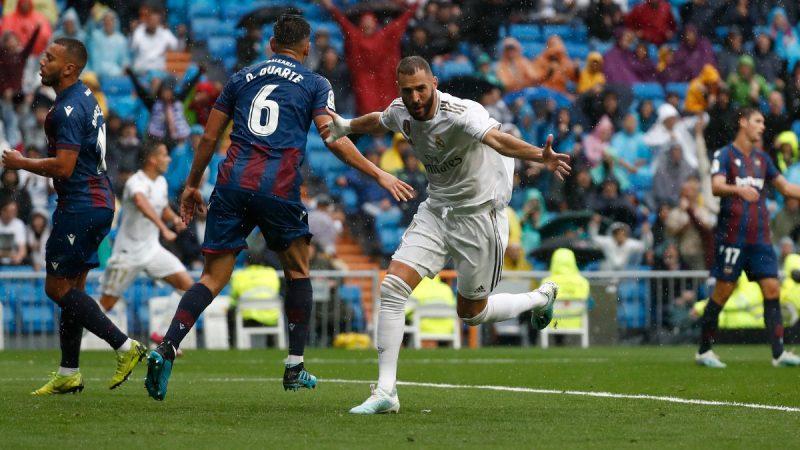 """ريال مدريد يفوز بصعوبة على ليفانتي وبرشلونة يكتسح فالنسيا واتلتيكو يسقط في الباسك """"الترتيب"""""""