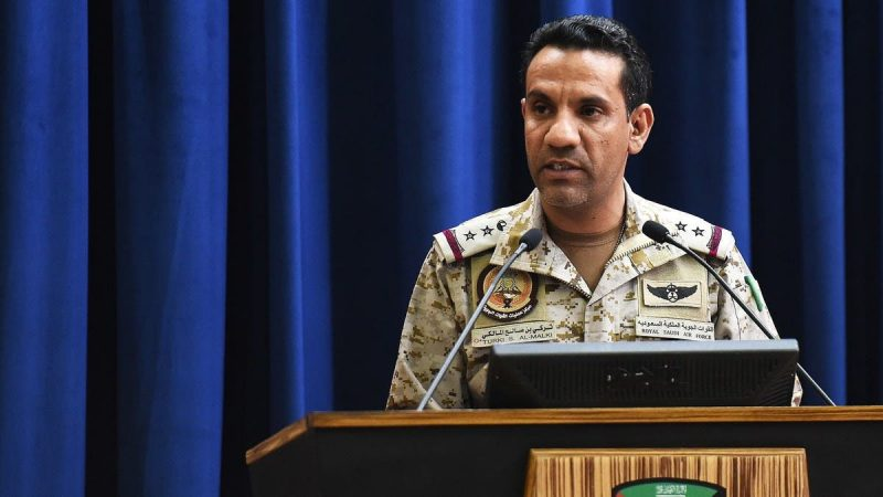 سقوط طائرة حربية تابعة للتحالف العربي في الجوف