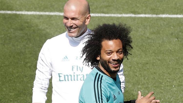 مارسيلو يعود للتدريبات مع ريال مدريد قبل مواجهة الديربي