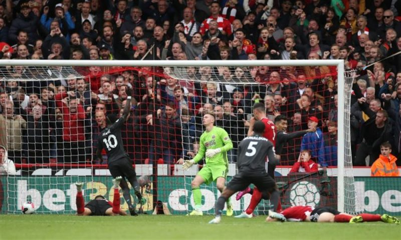 ليفربول يحقق انتصاره السابع بفوزه على شيفيلد يونايتد ويتربع  صدارة البريمرليغ