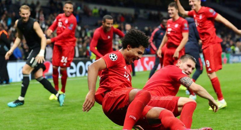 بايرن ميونخ يسحق نظيره توتنهام في دوري أبطال أوروبا