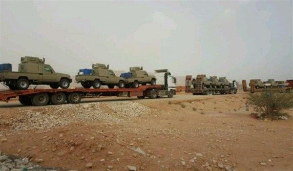 السعودية تدعم قوات الجيش في شبوة بتعزيزات عسكرية