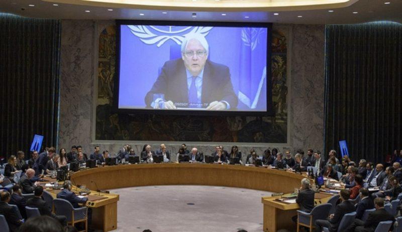 غريفيث يبدي قلقه من قرار تصنيف مليشيا الحوثي منظمة إرهابية