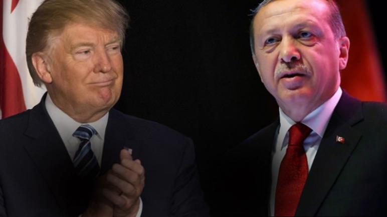 ترامب يثني على اردوغان ويصفه بأنه قائد عظيم وشديد البأس