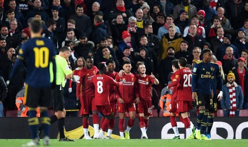 بعد مباراة مثيرة.. ليفربول يهزم أرسنال بضربات الترجيح